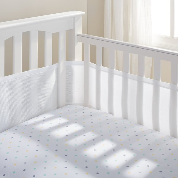 Mesh Crib Bumper Liner by BreathableBaby