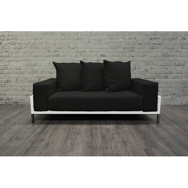 Tilly Deep Seated Loveseat with Cushions by Orren Ellis