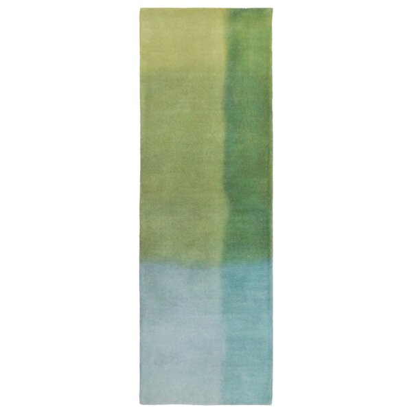 Mullican Hand-Tufted Green Area Rug by Latitude Run