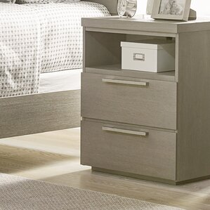 Leland 2 Drawer Nightstand by Harriet ..