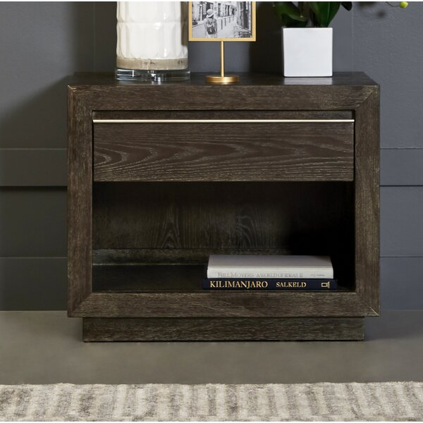 Lydney 1 Drawer Nightstand by Brayden Studio