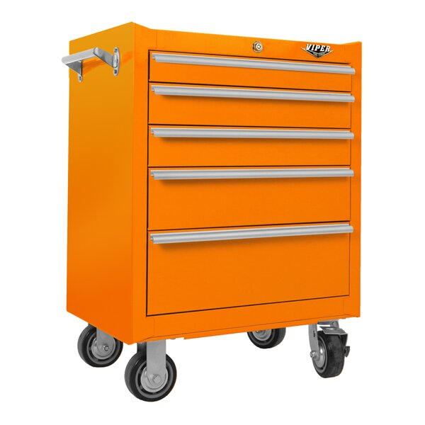 26 W 5 Drawer Tool Chest By Viper Tool Storage.