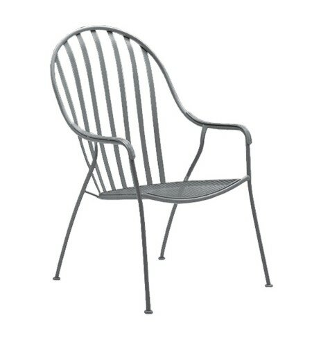 Valencia Stackable High Back Patio Chair by Woodard