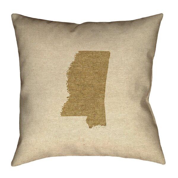 Austrinus Mississippi Outdoor Throw Pillow