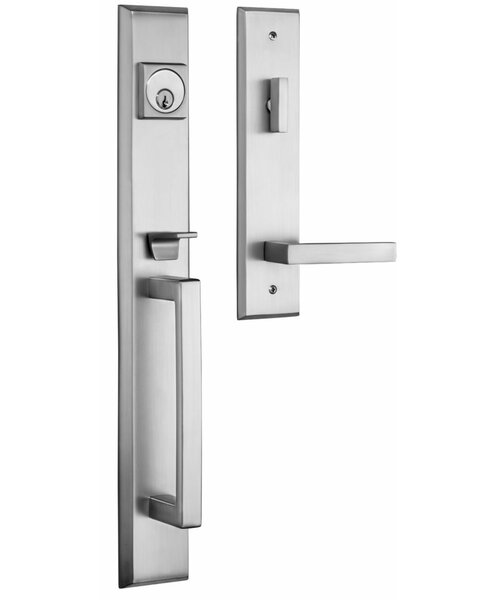 Premium Lumina Single Cylinder Handleset by Rockwell Security