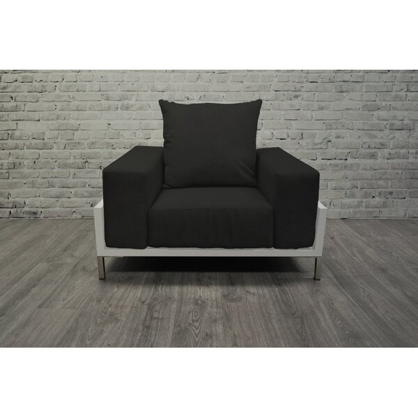 Nubis 4 Piece Sunbrella Sofa Set with Cushions by Solis Patio