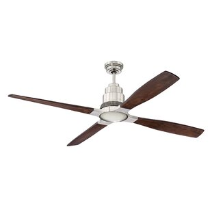 Buying 60 Karina 4 Blade Ceiling Fan with Remote By Brayden Studio