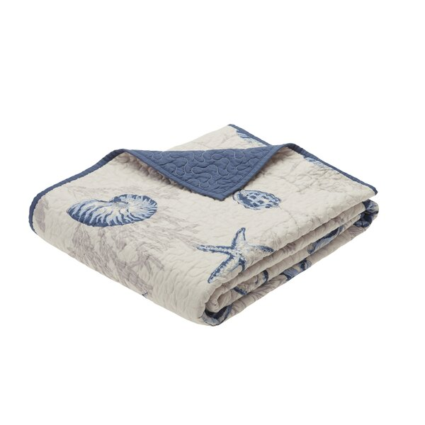 Southhampton Oversized Quilted Throw by Beachcrest Home