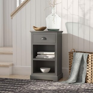Lohan End Table With Storage by August Grove