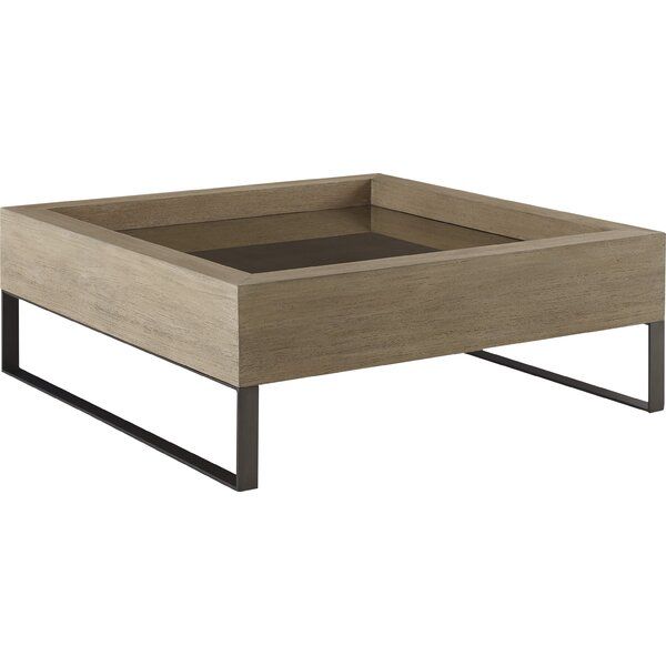 Mcguire Coffee Table with Tray Top by 17 Stories