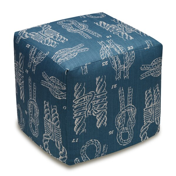 Knots Cube Ottoman by 123 Creations