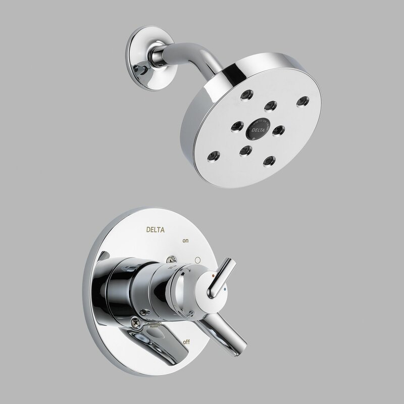 Trinsic® Bathroom Shower Faucet Trim With Lever Handles And H2okinetic  Technology