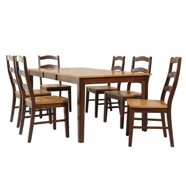 Stettler 7 Piece Dining Set by TTP Furnish