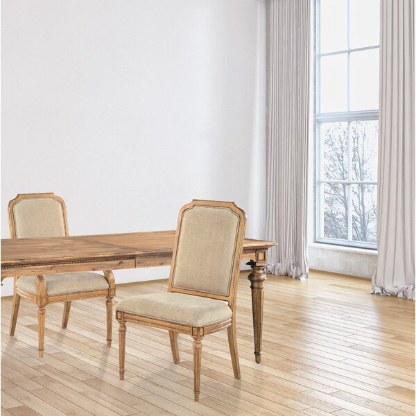 Tyra Upholstered Dining Chair by One Allium Way