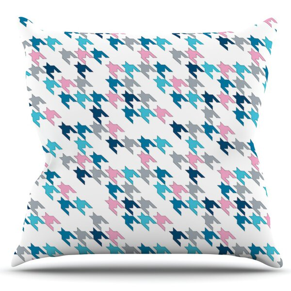 Tooth by Project M Outdoor Throw Pillow by East Urban Home