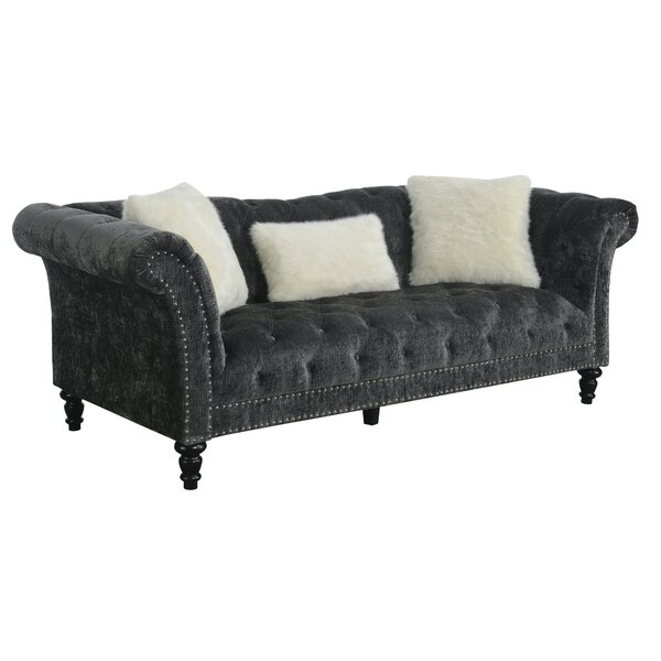 Chic Collection Hendrix Chesterfield Sofa by Willa Arlo Interiors by Willa Arlo Interiors
