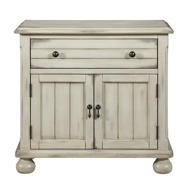 Augustine 1 Drawer Accent Cabinet by One Allium Way One Allium Way
