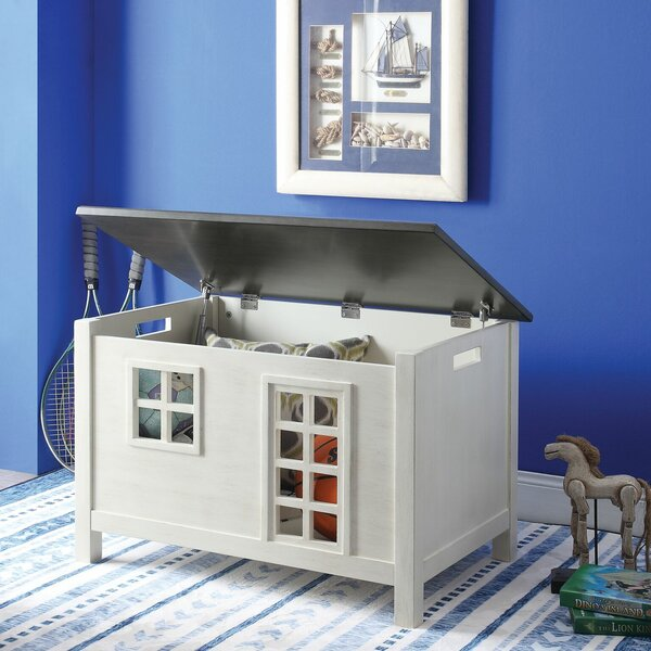 Buono Wooden Lift Top House Design Storage Bench By Zoomie Kids Purchase