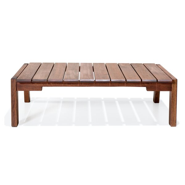 Marvine Wooden Coffee Table by Rosecliff Heights