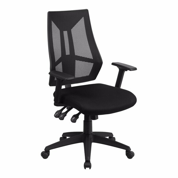 Triple Padded Control Mid-Back Mesh Desk Chair by Symple Stuff