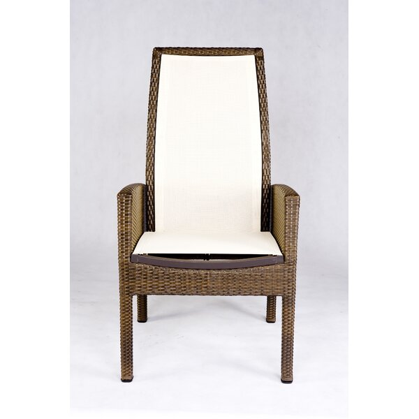 Out Of Blue Patio Dining Chair by Les Jardins