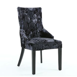 majestic looking gray upholstered dining chairs. Save to Idea Board Studded Chair  Wayfair co uk