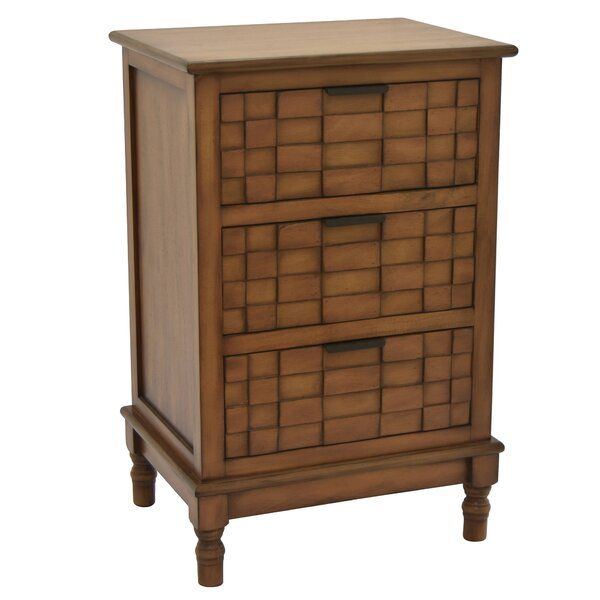 Tillar 3 Drawer Accent Chest By Bay Isle Home