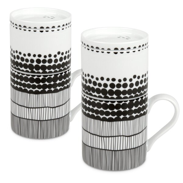 Tighe Porcelain Coffee Mug (Set of 2) by Latitude Run