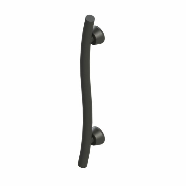 Accent Curved Grab Bar by Invisia Collection