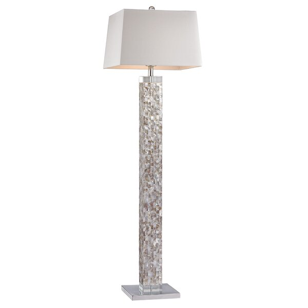 Stinson 63 Floor Lamp by Rosecliff Heights