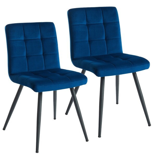 Teena Upholstered Dining Chair (Set of 2) by Wrought Studio