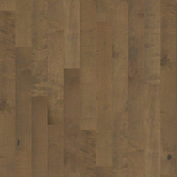 Whispering 5 Engineered Birch Hardwood Flooring in Medium by Shaw Floors