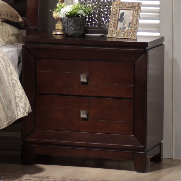 Bethania 2 Drawer Nightstand by Latitude Run