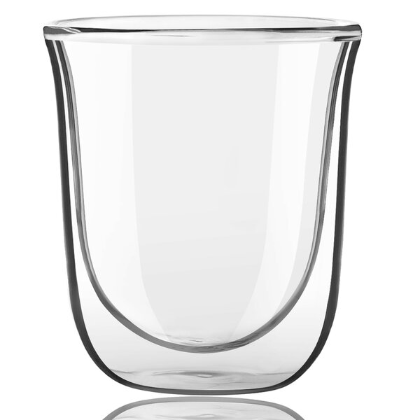 Javaah Double Wall Glass 2 oz. Shot Glass (Set of 2) by JoyJolt