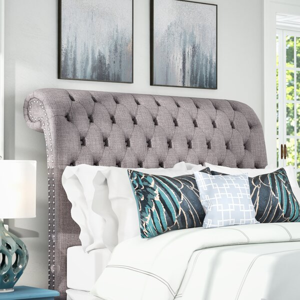 Derrell Upholstered Headboard by World Menagerie