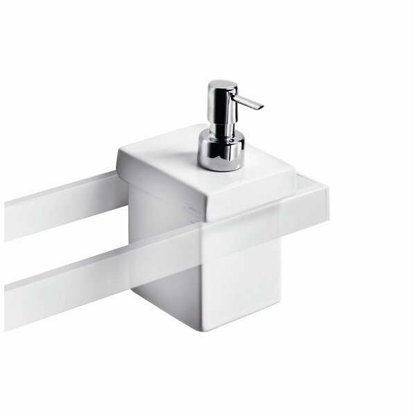 Skuara Soap Dispenser by WS Bath Collections