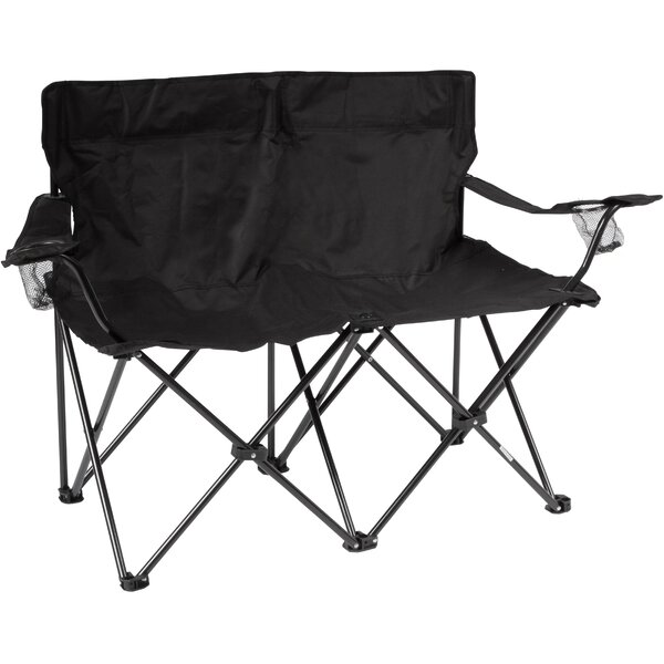 Loveseat Folding Camping Bench by Trademark Innovations Trademark Innovations