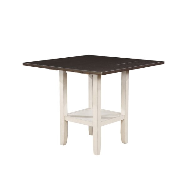 Jadyn Counter Height Drop Leaf Dining Table by Longshore Tides Longshore Tides