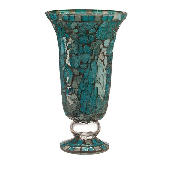 Large Glass Hurricane by Bloomsbury Market