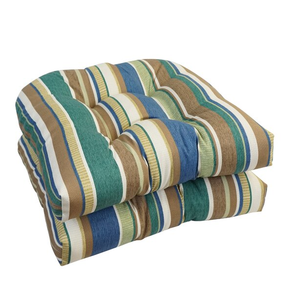 Dining Chair Outdoor Seat Cushion (Set of 2)