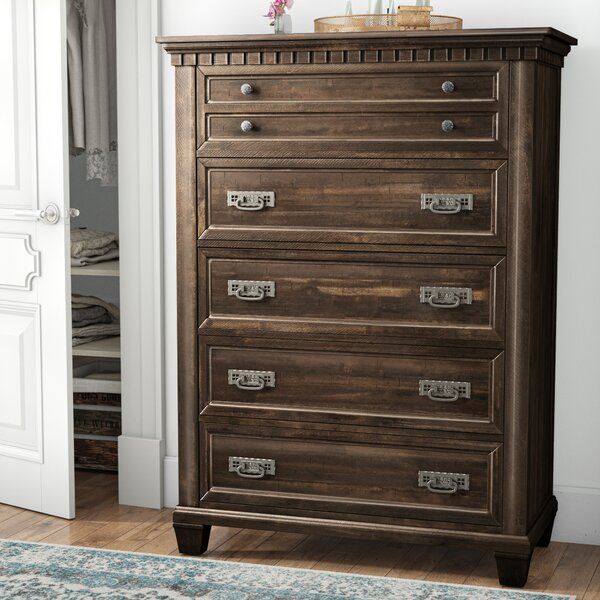 Suzann 5 Drawer Chest by Laurel Foundry Modern Farmhouse