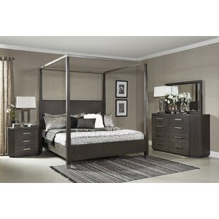 Tribeca Studio Canopy Bed by Fairfax Home Collections