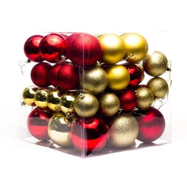 62 Piece Ball Ornament Set by Andover Mills