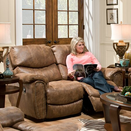Valuable Price Carolina Motion Reclining Loveseat by Red Barrel Studio by Red Barrel Studio