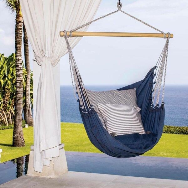 Rachelle El Salvador Cotton Porch Swing by Breakwater Bay