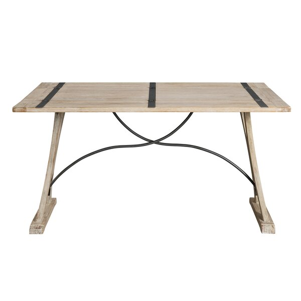 Nunley Extendable Solid Wood Dining Table by Gracie Oaks Gracie Oaks