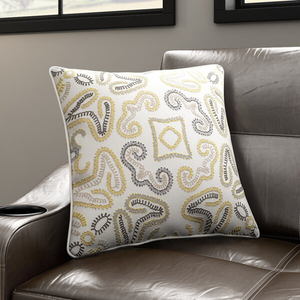 Oak Hill Cotton Throw Pillow by Latitude Run