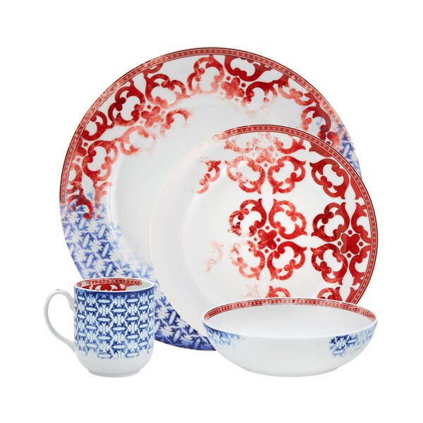 Timeless 4 Piece Place Setting, Service for 1 by Vista Alegre