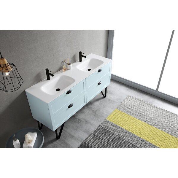 Van Orden 60 Double Bathroom Vanity Set