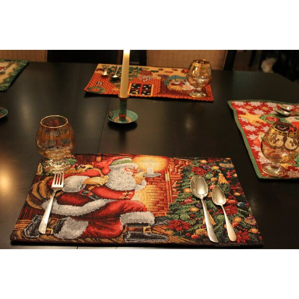 Chimney Placemat (Set of 4) by Tache Home Fashion